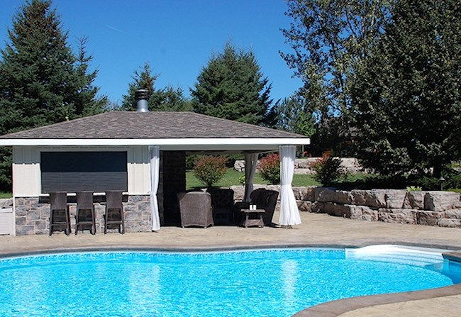 Stone Pool Decks