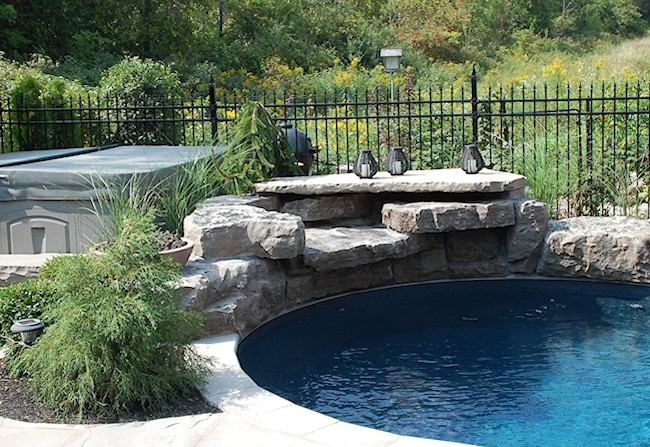 Stone Pool Features