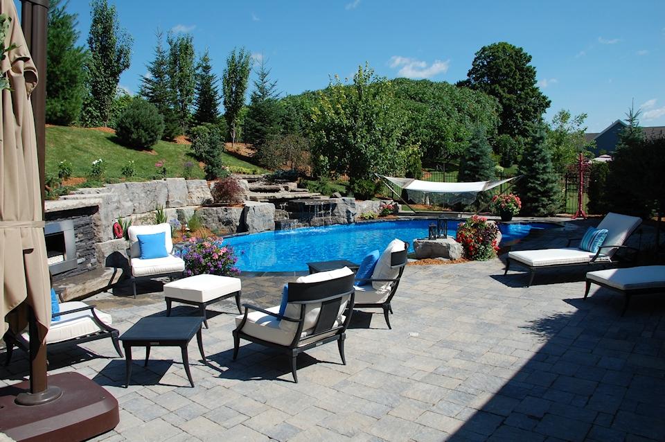 Complete Pool Landscape